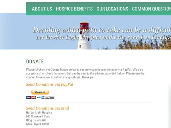 Elegant Adeasel A Dynamic Agency Chicago Des Moines Minneapolis Rhadeasel: Harbor  Light Hospice At Light